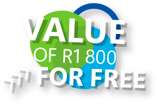 value of R1800 for free